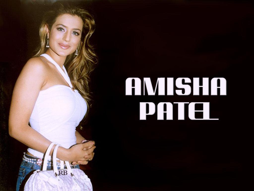 Indian Actress   Amisha Patel Wallpapers